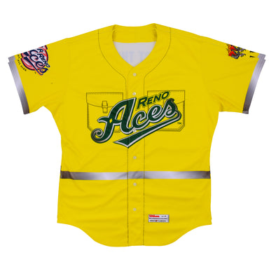 2019 Reno Aces Firefighter Appreciation Theme Night Jersey
