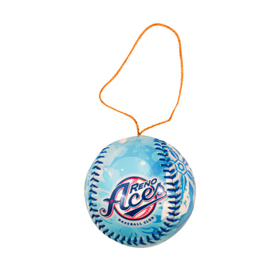 Primary Logo Baseball Ornament