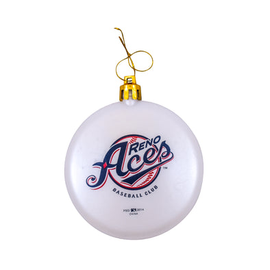 Primary Logo White Ornament