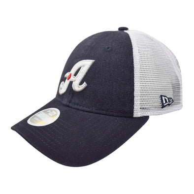 "New Era ""A"" Logo Women's Trucker Adjustable Cap"