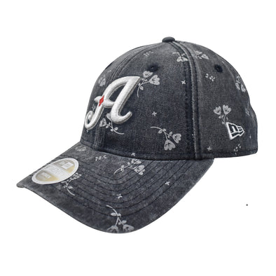 "New Era ""A"" Logo Women's Floral Shine  9Twenty Adjustable Cap"