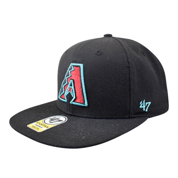 '47 Arizona Diamondbacks Primary Logo Captain YOUTH Snapback Hat