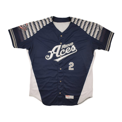 2019 Reno Aces Wolfpack Night Theme Jersey