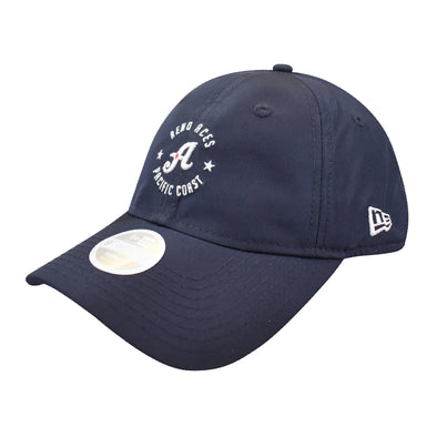 "New Era Women's ""A"" Logo Small Pacific Coast 9Twenty Adjustable Cap"