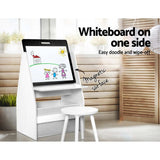 Keezi Kids Bookshelfs Child Bookcases Kids Easel Whiteboard Magazine Rack Desk
