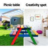 Keezi Kids Wooden Picnic Bench Set