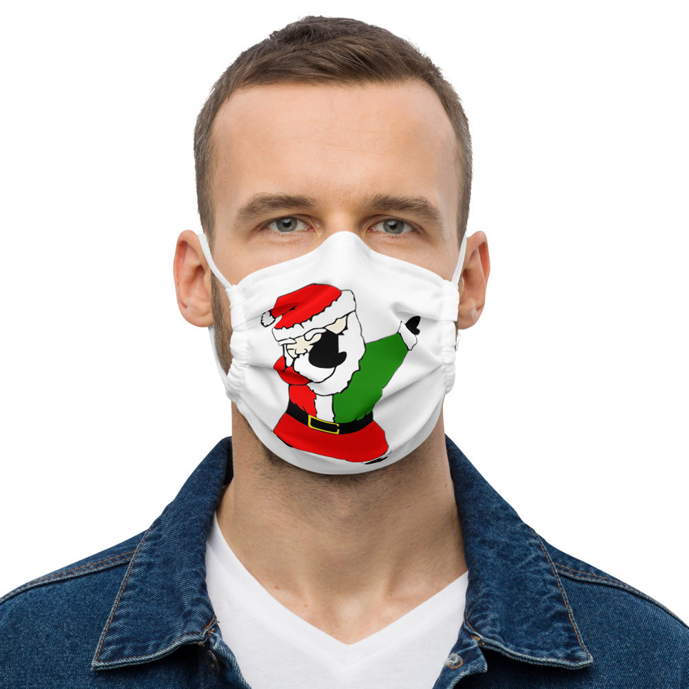 Santa Dab face mask
