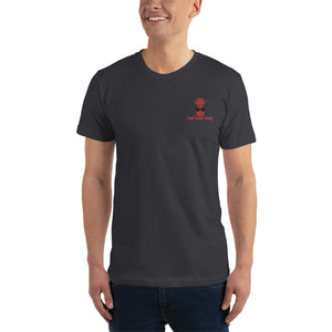 FGS Black & Red Embroidered T-Shirt