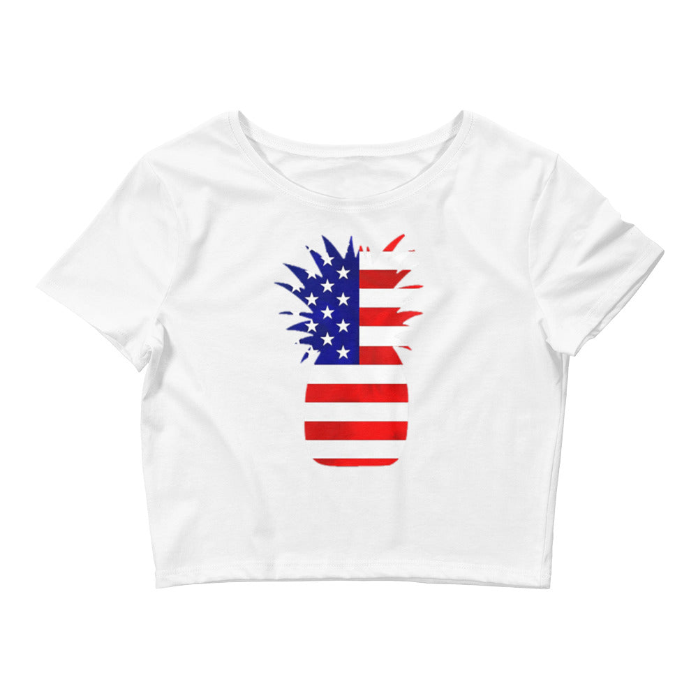USA Pineapple Crop Tee