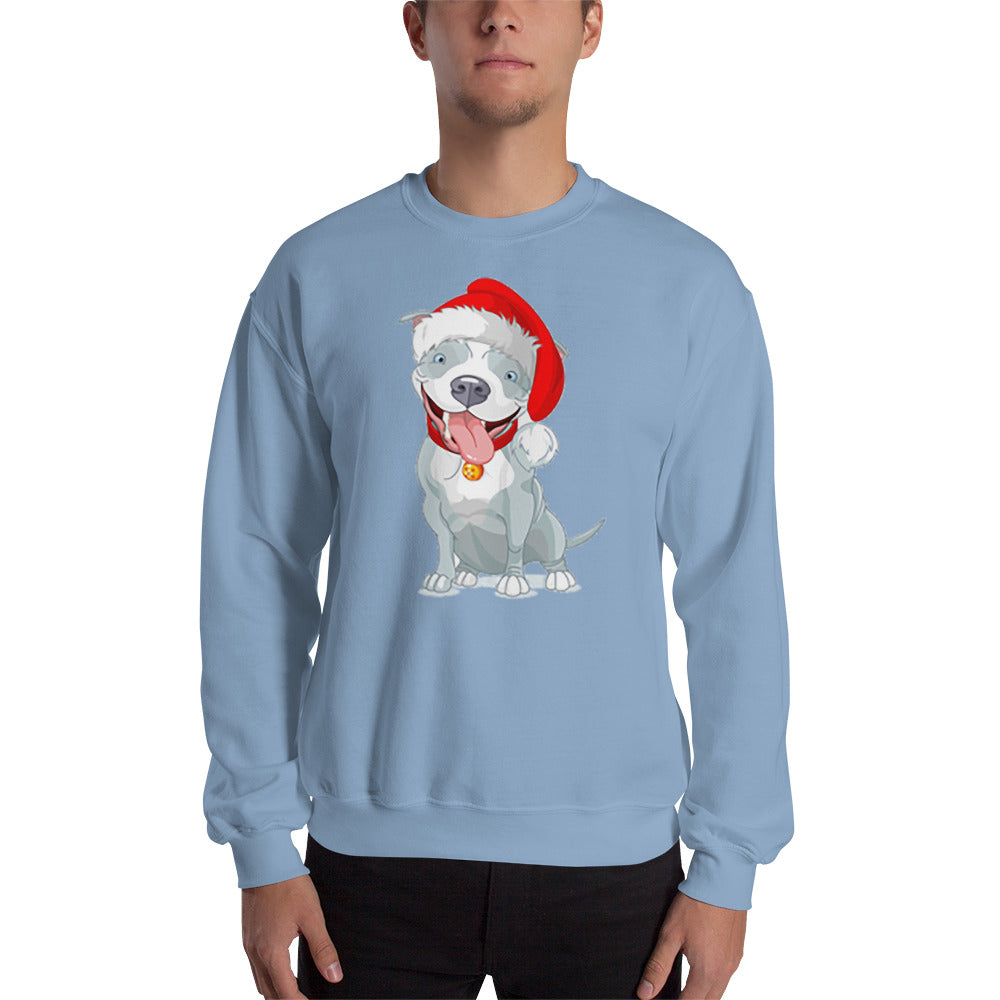 PitBull Christmas Sweatshirt