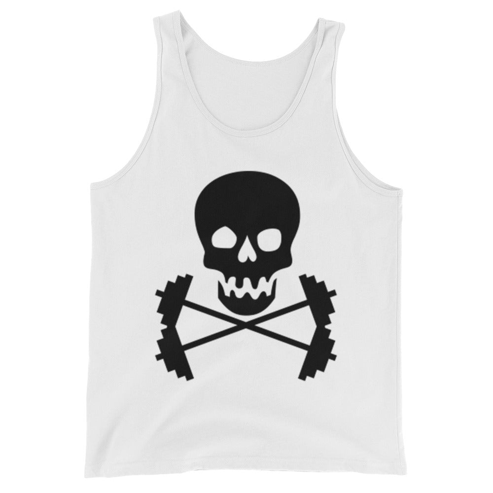 Skull Lifting Mens Tank