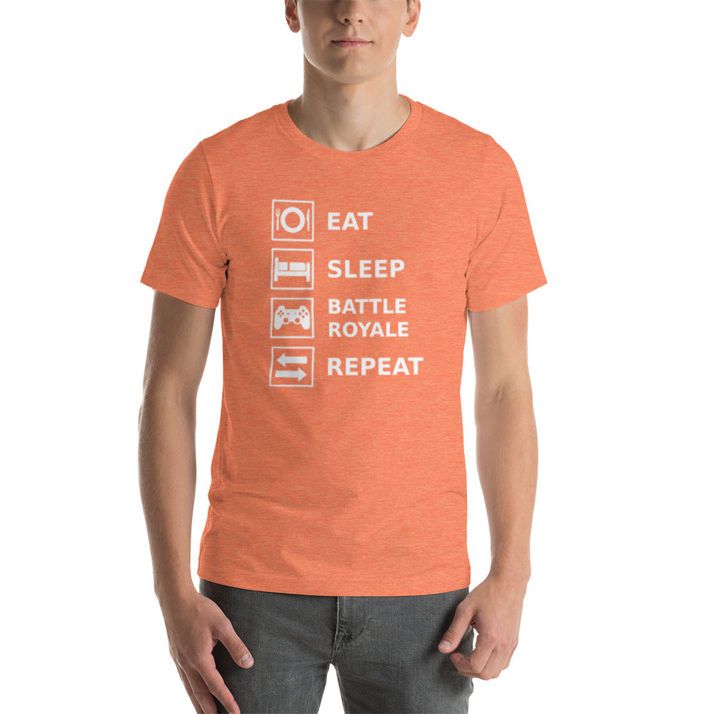 Eat Sleep Battle Royale Repeat Unisex T-Shirt