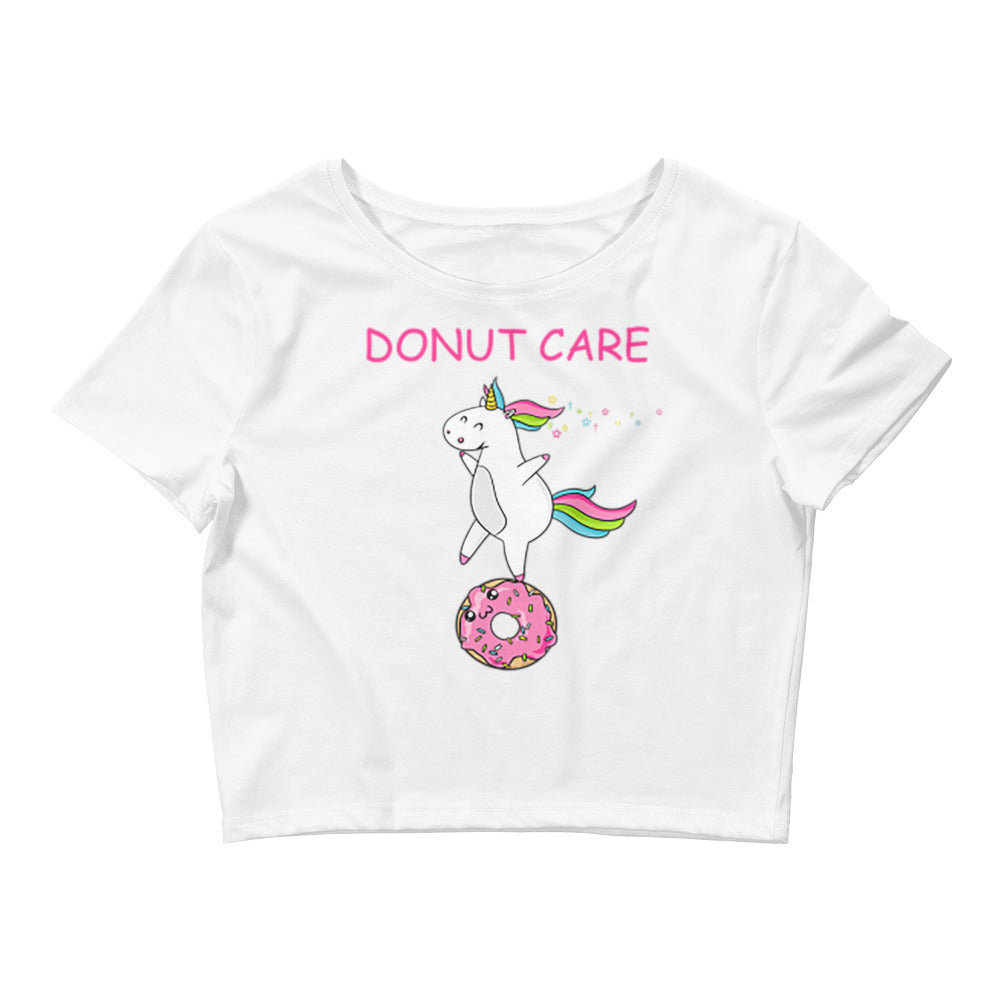Donut Care Crop Top