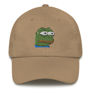 MonkaS Embroidery Dad hat