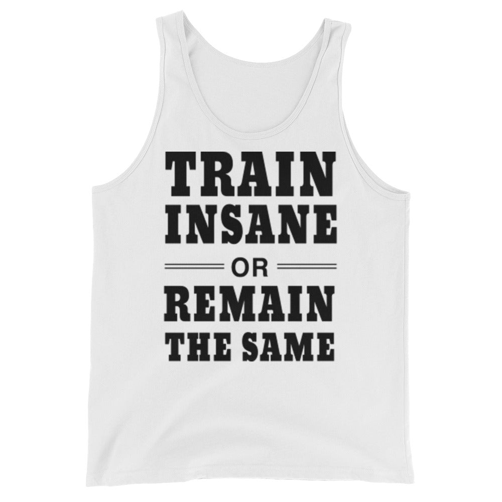 Train Insane Mens Tank