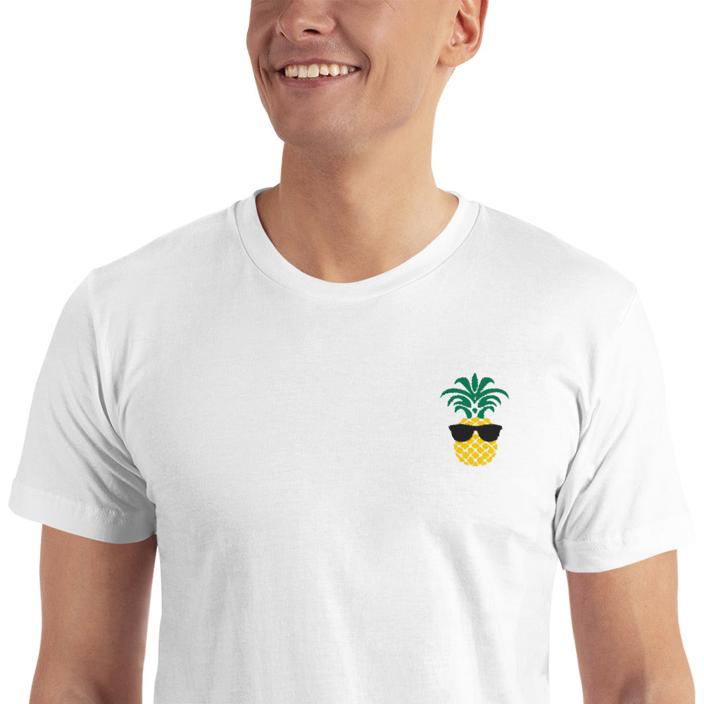 FGS Pineapple Embroidered T-Shirt