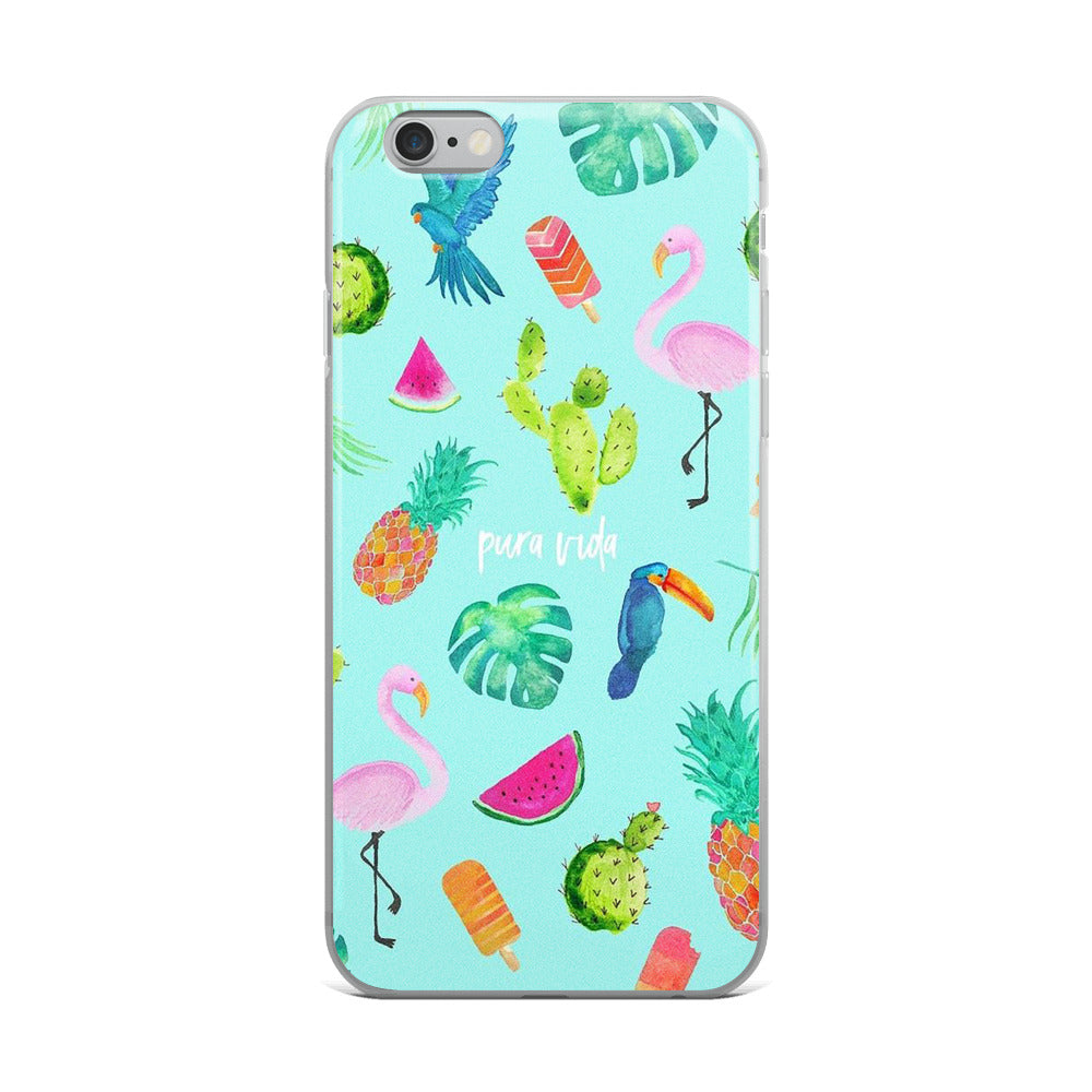 Pura Vida (Pure Life) iPhone Case