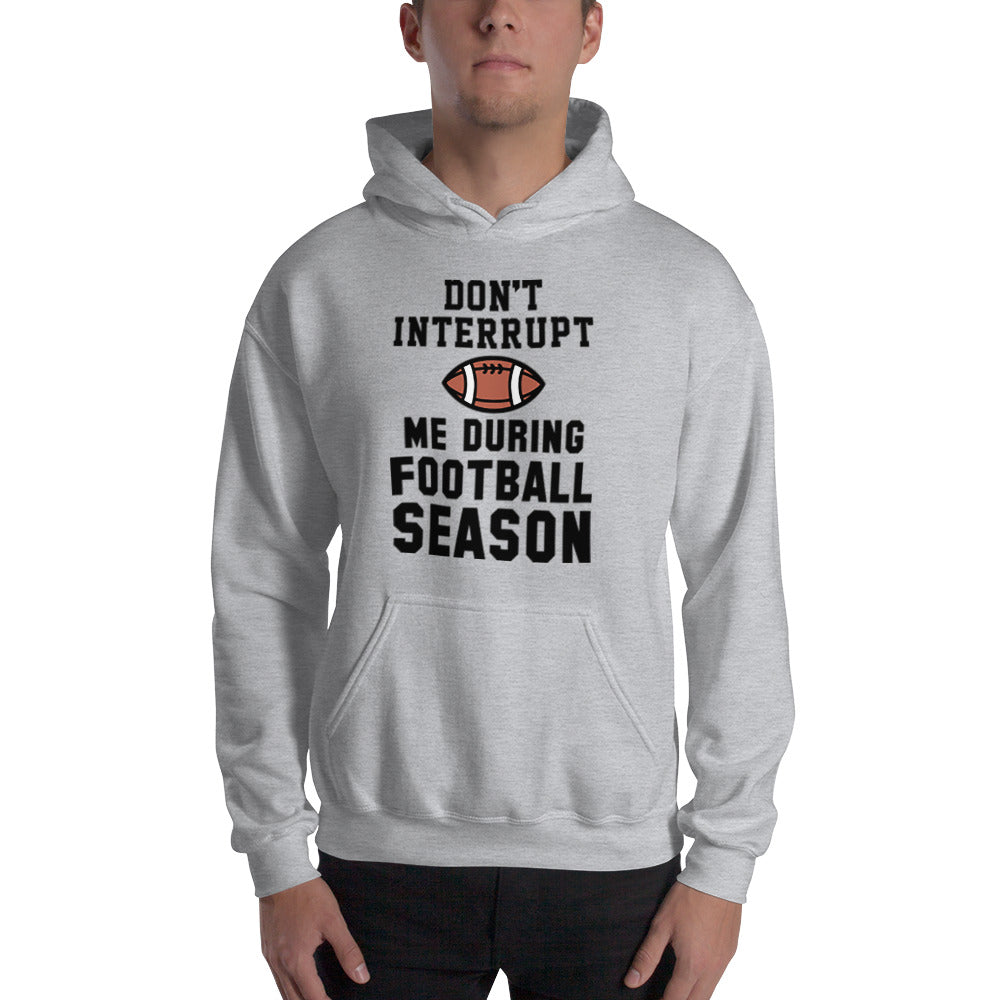 Football Season Hooded Sweatshirt