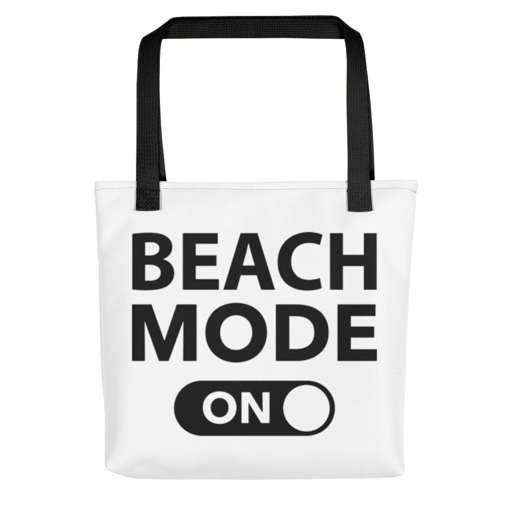 Beach Mode On Tote bag