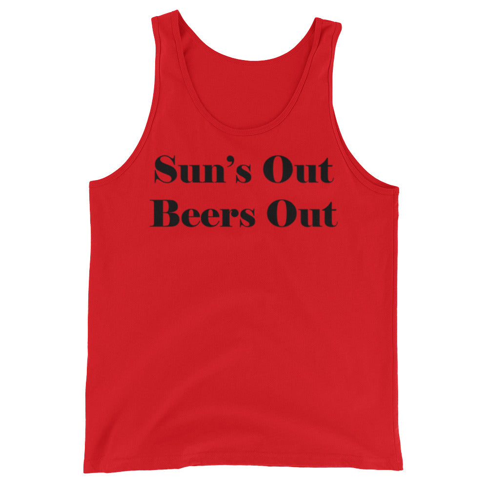 Sun's Out, Beers Out Tank