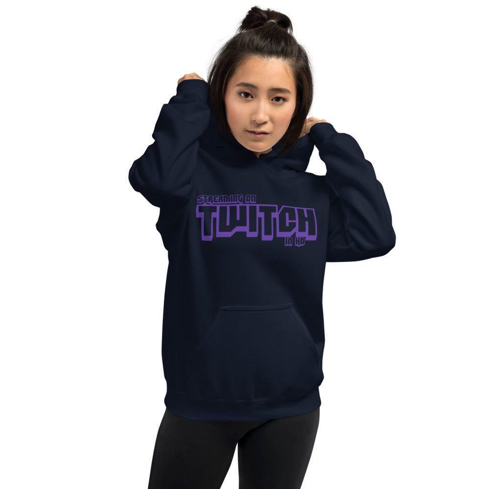 Twitch Streamer in HD (Female Mockup) Hoodie