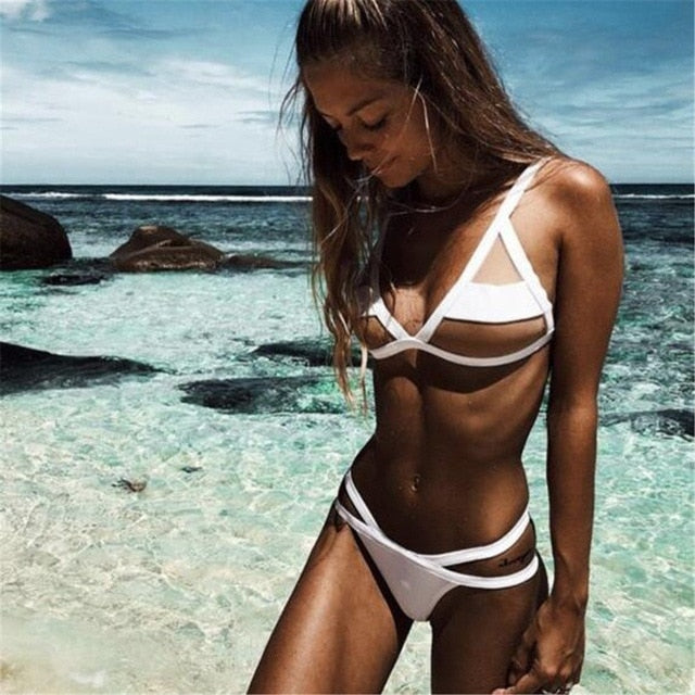 Mermaid Mesh Bikini Set