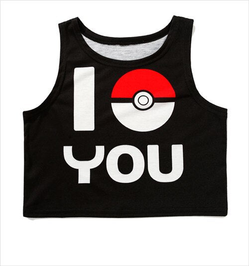 Gotta Catch Em All Crop Top