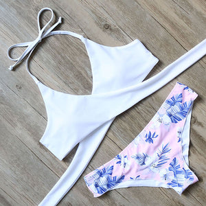 Beach PLEASE Bikini Set