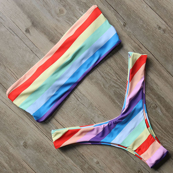 Love Is Love Bikini Set