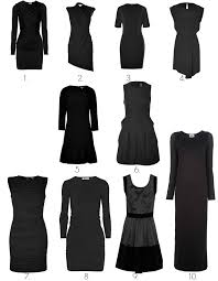 The Basic Black Dress