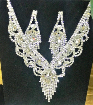 Rhinestone Statement Set