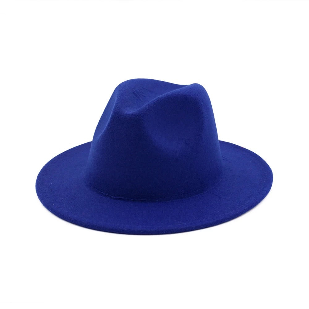 Fedora - Royal Blue