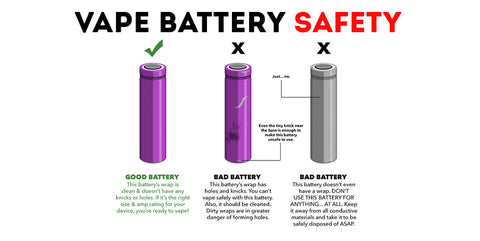 vape battery safety