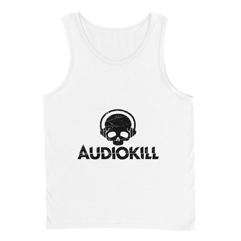 AUDIOKILL Tank Top-WHITE