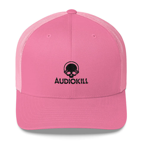 AUDIOKILL Trucker Cap - PINK / BLACK