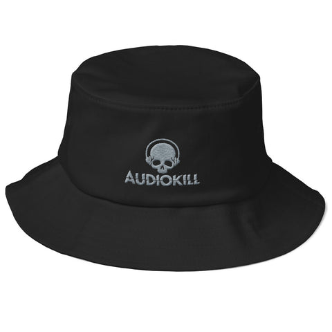 AUDIOKILL Old School Fisherman Hat-BLACK/GRAY