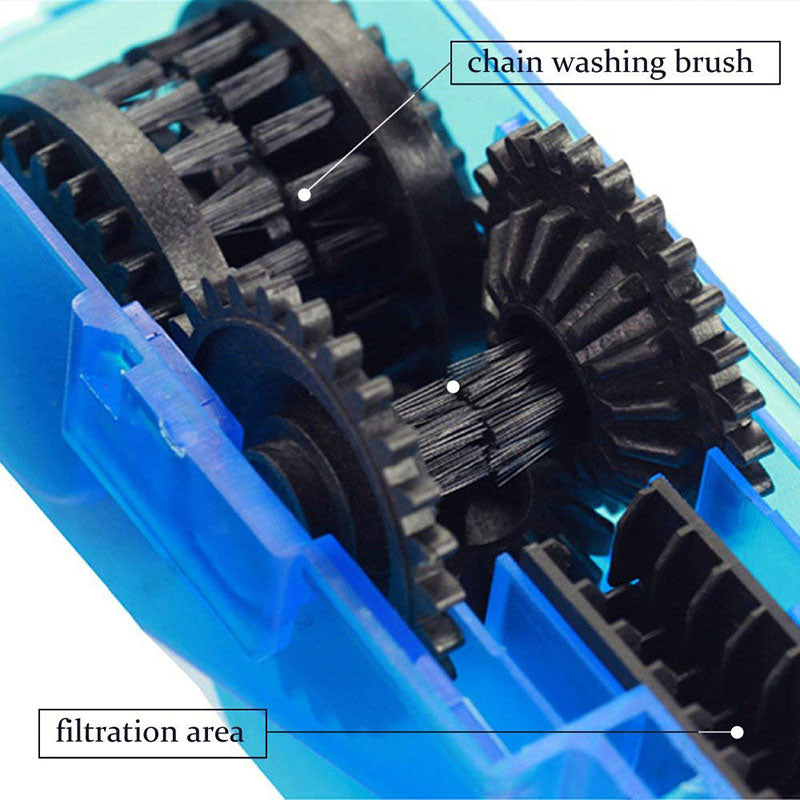 Bicycle Chain Cleaner Scrubber Brushes Mountain Bike Wash Tool Set Cycling Cleaning Kit Bicycle Repair Tools Bicycle Accessories - cybernetshop