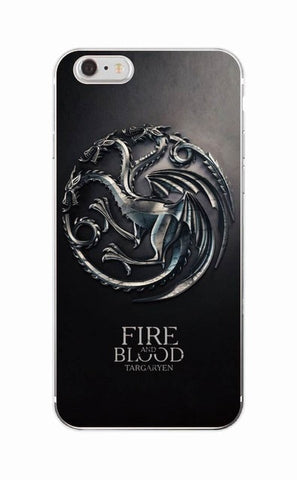 3 Dragons- Game Of Thrones Soft Phone Case