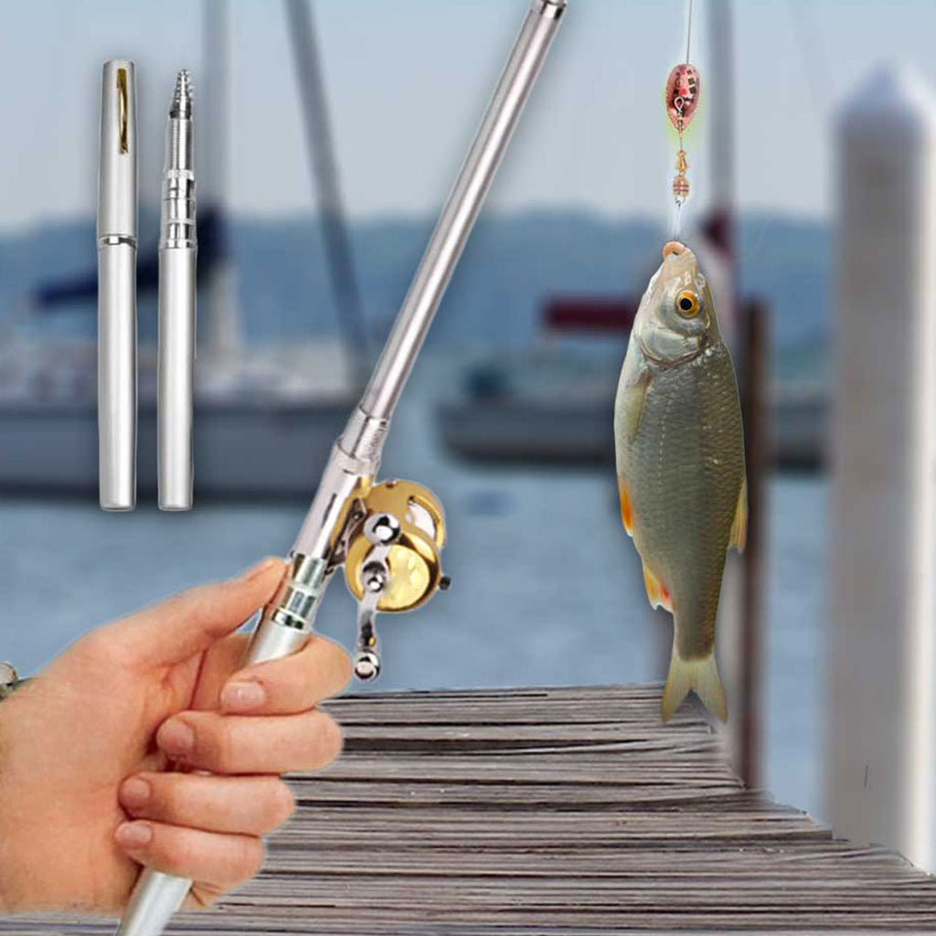 Mini Pen Fishing Rod - cybernetshop