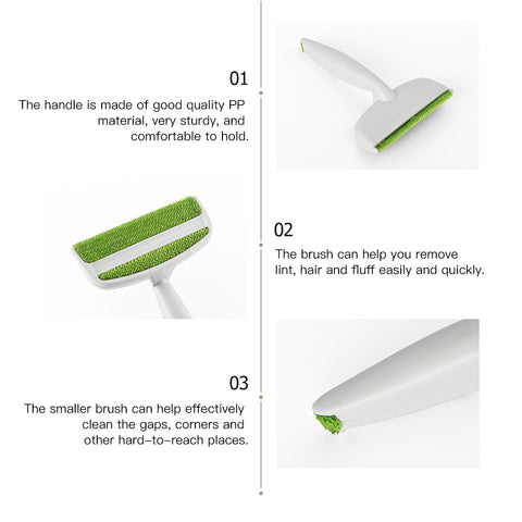 Image of Clothes Pets Hair Remover Brush Manual Magic - cybernetshop