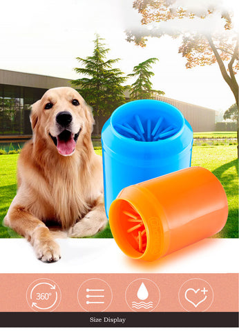 Image of Portable Pet Foot Cleaner -Paw Cleaner
