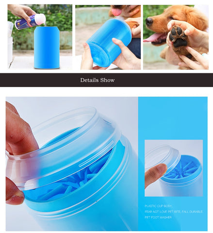 Portable Pet Foot Cleaner -Paw Cleaner - cybernetshop