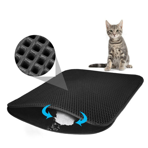 Image of Waterproof Pet Cat Litter Mat- Free Shipping - cybernetshop