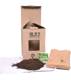 JUTE GROW BAG HERB GARDEN