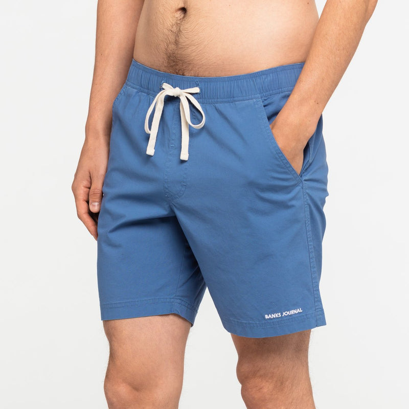 Label Elastic Boardshort