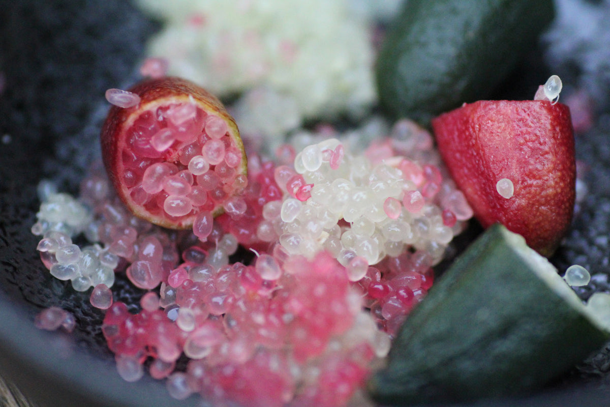 The healing powers of Finger Lime Caviar