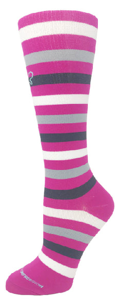 15-20 mmHg Knit Compression Socks - Pure Hearts Scrubs