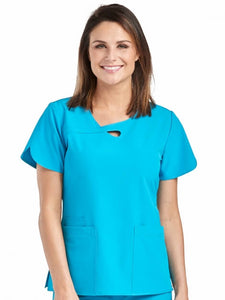 4-Ever Flex Lola Keyhole Tops - Pure Hearts Scrubs