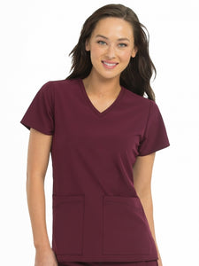 V-Neck Admire Top - Pure Hearts Scrubs