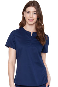 Henley Top - Pure Hearts Scrubs